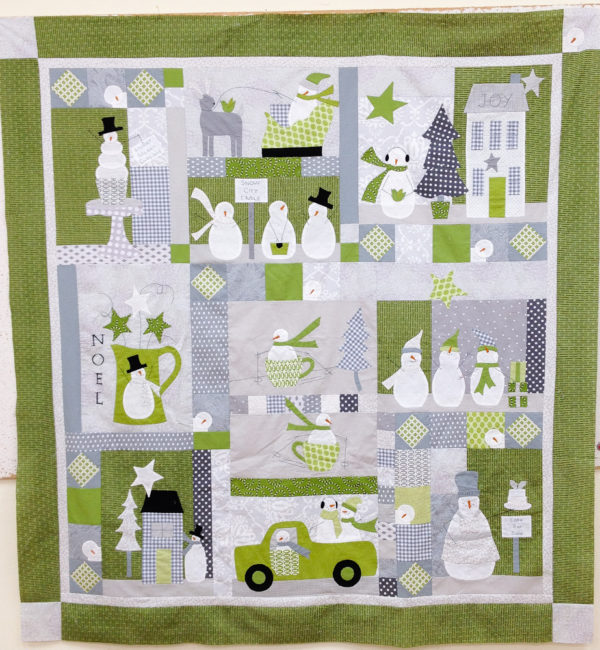Snowman Quilt Fabric Fabric For Another Quilt