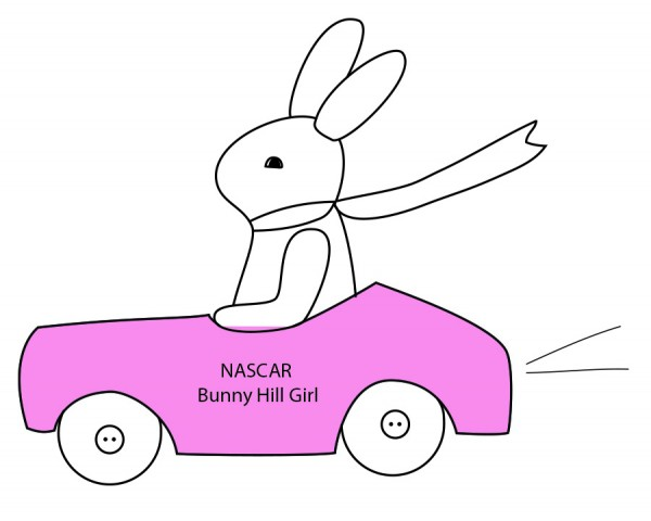 Nascar bunny