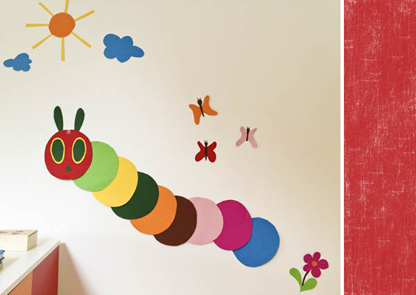 Wall Decor With Construction Paper : Wall art ? bunny tales