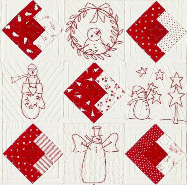 Quilting makes the Quilt, Bunny Hill Designs