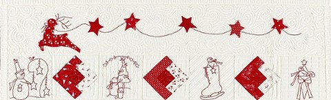 """Quilting Makes the Quilt, """"I Believe in Snowmen"""" by Bunny Hill Designs"""