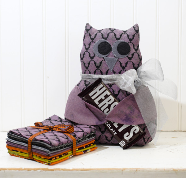 "Olivia Owl made with our ""Batty"" bundle"