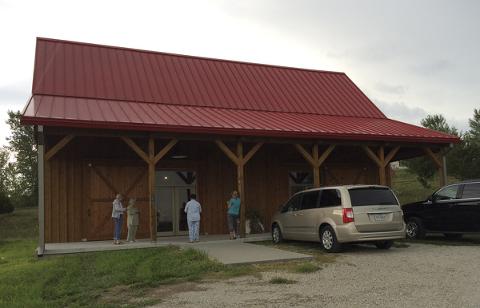 The Minglewood Lodge in Gretna, Nebraska