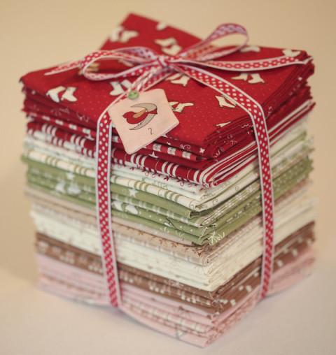 Mistletoe Lane by Bunny Hill Designs & Moda Fabrics