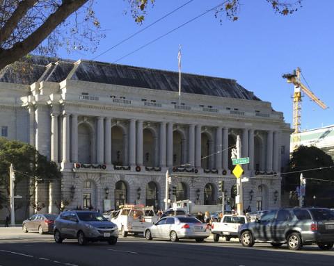 The War Memorial Opera House, San Francisco