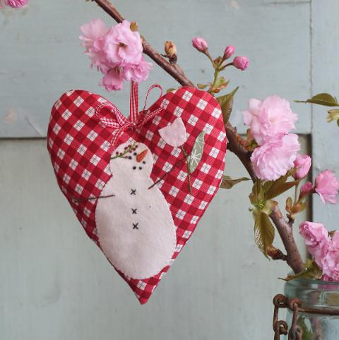 Snow Happy Hearts for May