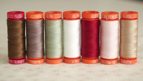 Aurifil Thread Take One