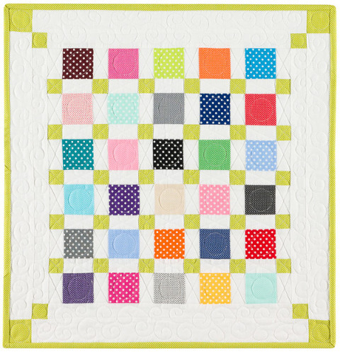 Bunny Hill Designs Dottie Mini Charm Quilt