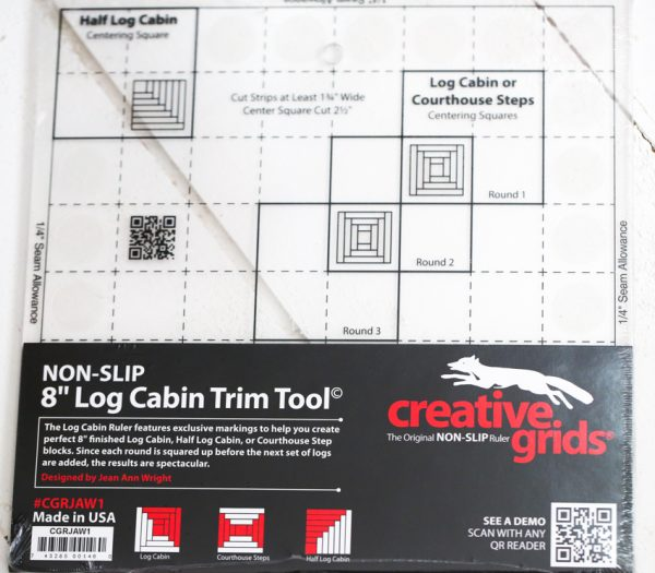 Log Cabin Creative Grids Ruler