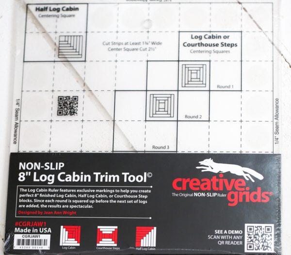 Log Cabin Creative Grids Ruler