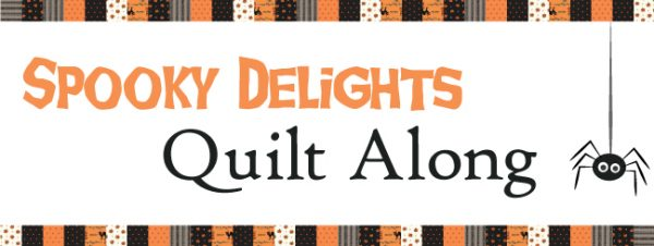 Spooky Delights Quilt Along