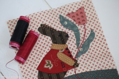 Spray Starch Applique